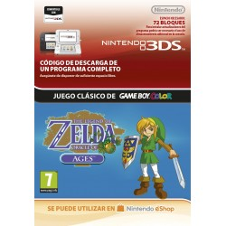 THE LEGEND OF ZELDA: ORACLE OF AGES NINTENDO 3DS DIGITAL DOWNLOAD CODE VIRTUAL CONSOLE