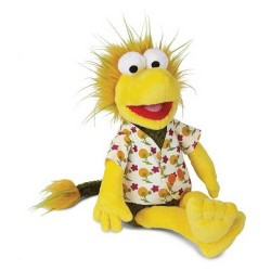 PELUCHE FRAGGLE ROCK DUDO (WEMBLEY) 43 CENTIMETROS TAMAÑO PELUCHES SERIES TV