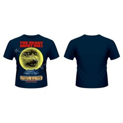 CAMISETA THE BEAST MUST DIE M CAMISETAS CINE