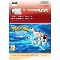 POKÉMON BLUE EDITION NINTENDO 3DS CÓDIGO DE DESCARGA DIGITAL VIRTUAL CONSOLE