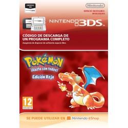 POKÉMON RED EDITION NINTENDO 3DS DIGITAL DOWNLOAD CODE VIRTUAL CONSOLE