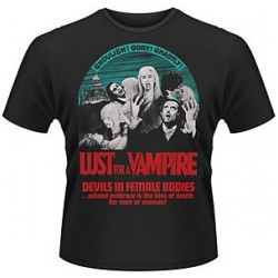 CAMISETA LUST FOR A VAMPIRE L CAMISETAS CINE
