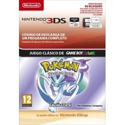 POKÉMON CRYSTAL EDITION SPANISH NINTENDO 3DS DIGITAL DOWNLOAD CODE VIRTUAL CONSOLE