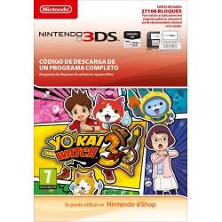 YO-KAI WATCH 3 ESP NINTENDO 3DS DIGITAL DOWNLOAD CODE