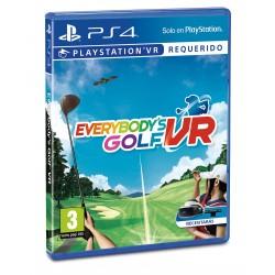 EVERYBODY'S GOLF VR PS4 JUEGO FÍSICO REQUIERE PSVR Y CÁMARA PLAYSTATION 4