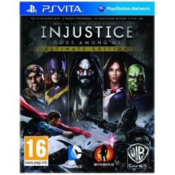INJUSTICE GODS AMONG US PSVITA ULTIMATE EDITION JUEGO FÍSICO PLAYSTATION VITA