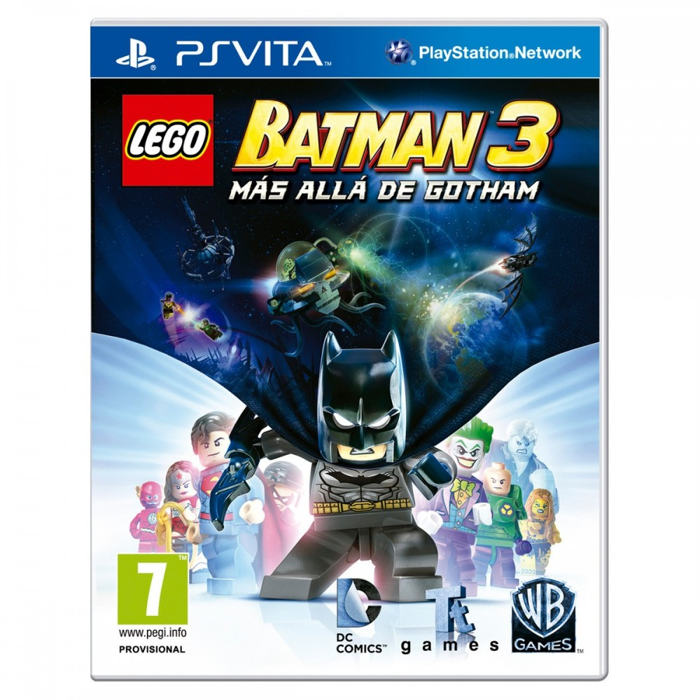LEGO BATMAN 3 PSVITA MÁS ALLÁ DE GOTHAM JUEGO FÍSICO PLAYSTATION VITA DE WARNER