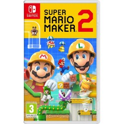 SUPER MARIO MAKER 2 SWITCH JUEGO FÍSICO PARA NINTENDO SWITCH