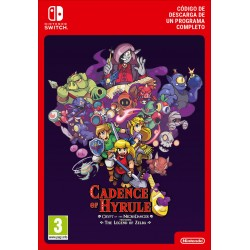 CADENCE OF HYRULE FT. LEGEND OF ZELDA NINTENDO SWITCH CÓDIGO DE DESCARGA DIGITAL