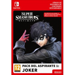 SUPER SMASH BROS ULTIMATE JOKER CHALLENGER PACK NINTENDO SWITCH DESCARGA DIGITAL