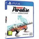BURN OUT PARADISE REMASTERED PS4 JUEGO FÍSICO DE EA PARA PLAYSTATION 4