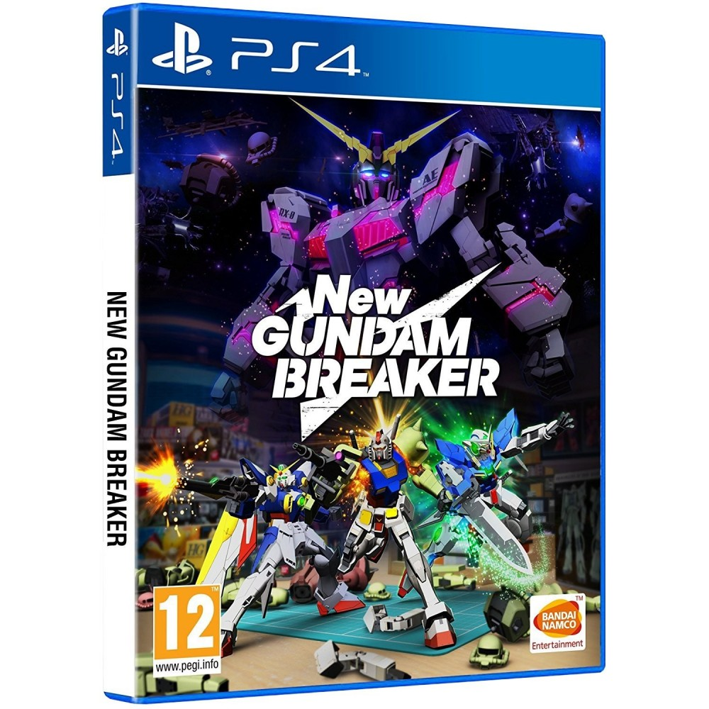 NEW GUNDAM BREAKER PS4 JUEGO FÍSICO PARA PLAYSTATION 4 DE BANDAI NAMCO