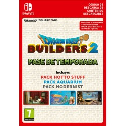 DRAGON QUEST BUILDERS 2 PASE DE TEMPORADA NINTENDO SWITCH CÓD. DESCARGA DIGITAL