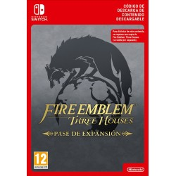 FIRE EMBLEN THREE HOUSES EXPANSION PASS NINTENDO SWITCH DIGITAL DOWNLOAD CODE JUEGO COMPLETO DESCARGA DIGITAL