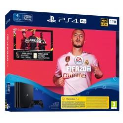 PS4 PRO 1TB + JUEGO FIFA 20 PS4 + MANDO DUALSHOCK 4 V2 + VOUCHER + 14 DIAS PSN