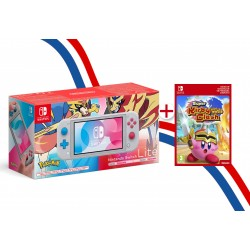 CONSOLE NINTENDO SWITCH LITE ÉDITION POKEMON ZACIAN & ZAMAZENTA + KIRBY CLASH