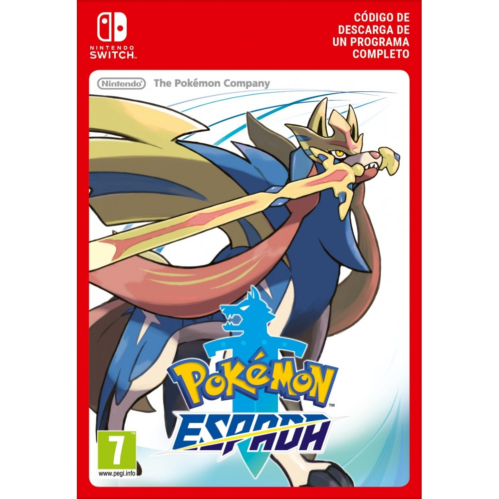 POKEMON SWORD NINTENDO SWITCH CÓDIGO DE DESCARGA DIGITAL