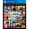 GRAND THEFT AUTO 5 PREMIUM EDITION PS4 JUEGO F͍SICO PLAYSTATION 4 GTAV GTA5