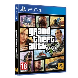 GRAND THEFT AUTO V PS4 VIDEOJUEGO FISICO GTA 5 PHYSICAL VIDEOGAME PLAYSTATION 4