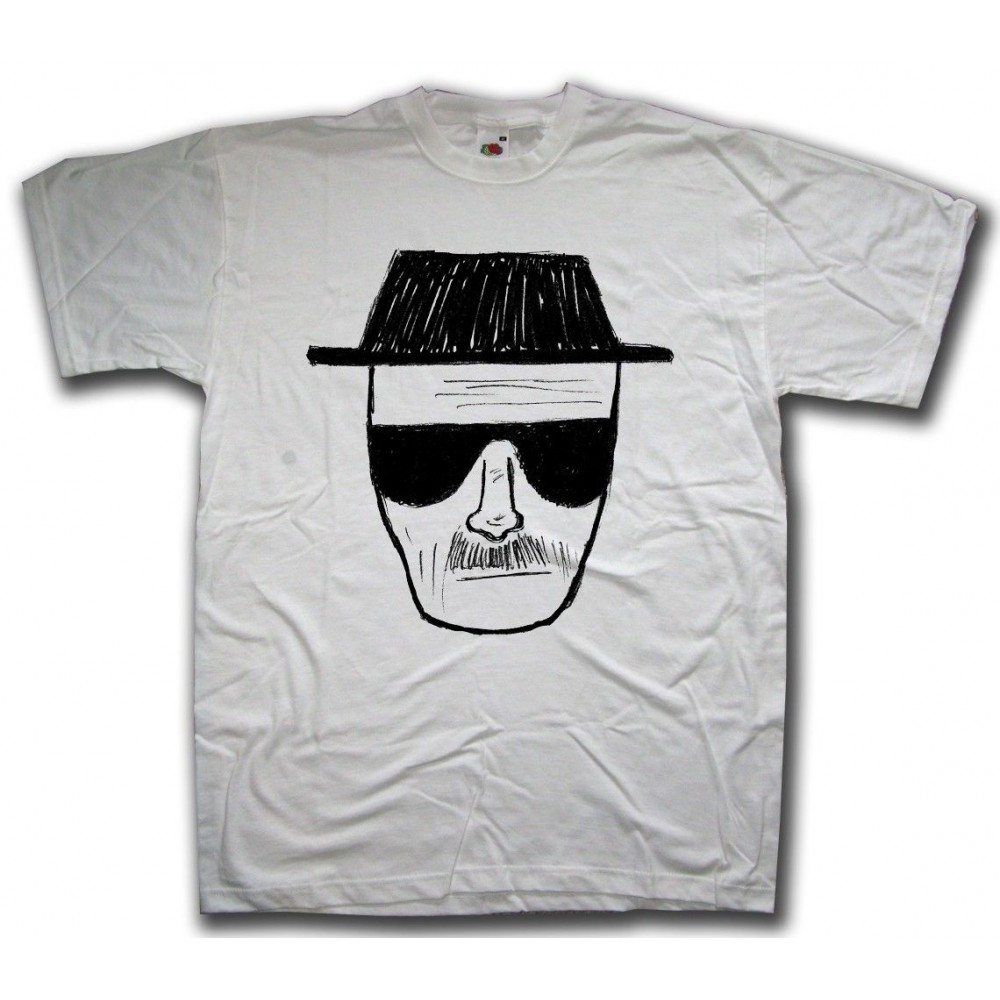 Camiseta Breaking Bad - Heisenberg Sketch, Talla S