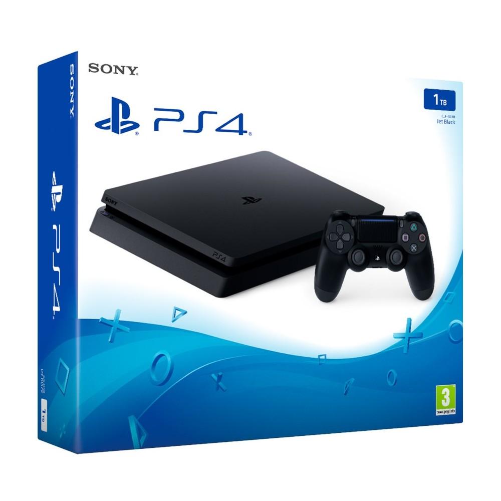 PS4 1TB CONSOLA PLAYSTATION 4 CON UN MANDO DUALSHOCK 4 Y DISCO DURO DE 1TB