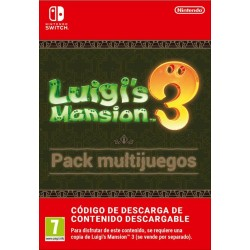 LUIGI'S MANSION 3 PACK MULTIJUEGOS CÓDIGO DE DESCARGA DIGITAL DE PACK DE CONTENIDO