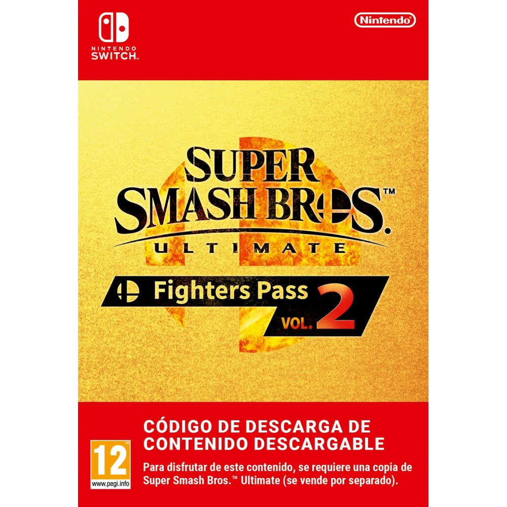 SUPER SMASH BROS. ULTIMATE: FIGHTERS PASS VOL. 2 SWITCH DIGITAL ADD ON CONTENT