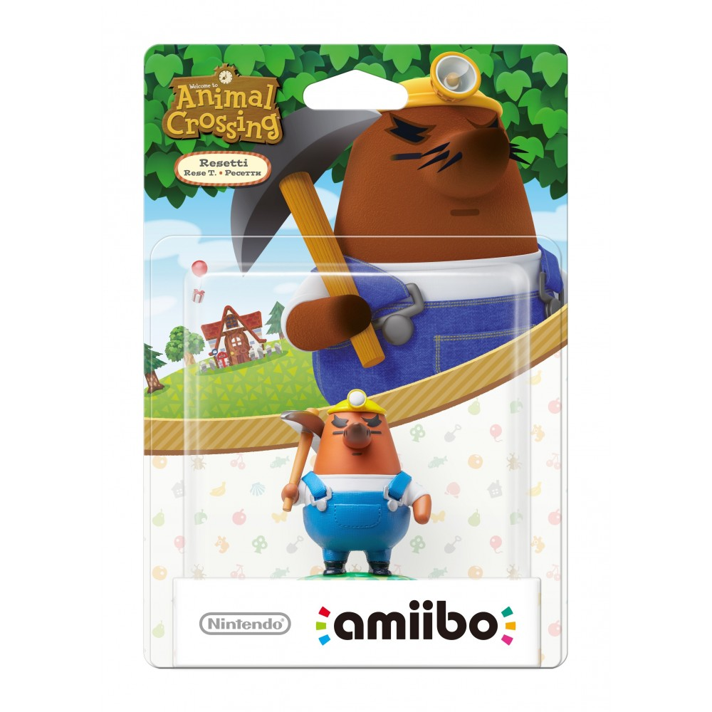 Amiibo A.Crossing Rese T.
