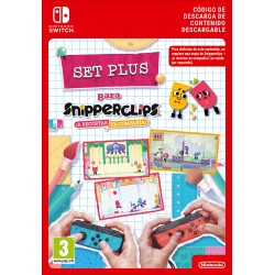 SNIPPERCLIPS: CUT IT OUT TOGETHER PLUSPACK NINTENDO SWITCH COD. DESCARGA DIGITAL