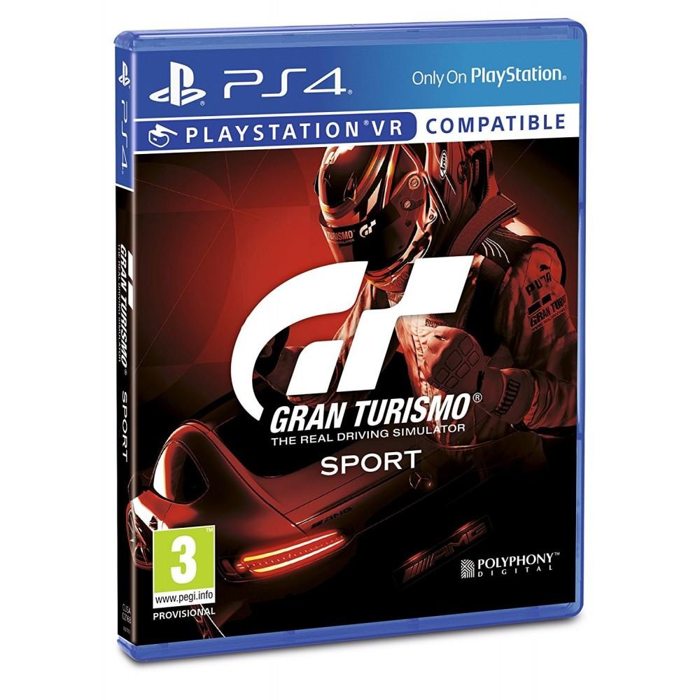 """GRAN TURISMO SPORT PS4 GT SPORT """"JUEGO FÍSICO"""" PLAYSTATION 4 COMPATIBLE PSVR"""