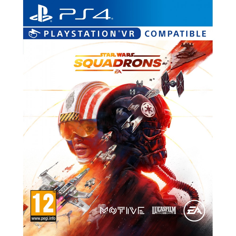 STAR WARS SQUADRONS PS4 JUEGO FÍSICO PSVR COMPATIBLE