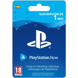 PLAYSTATION NOW SUSCRIPCIÓN DE 1 MES CÓDIGO DE DESCARGA DIGITAL