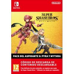 SUPER SMASH BROS ULTIMATE PACK DE ASPIRANTE 9 PYRA Y MYTHRA CONTENIDO DIGITAL