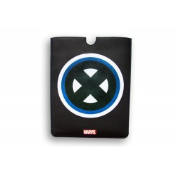 FUNDA PIEL IPAD 2-3 DELUXE LEATHER SLEEVE MARVEL X-MEN HEROES