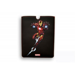 FUNDA PIEL IPAD AIR DELUXE LEATHER SLEEVE MARVEL IRON MAN HEROES