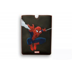 FUNDA PIEL IPAD AIR DELUXE LEATHER SLEEVE MARVEL SPIDERMAN HEROES