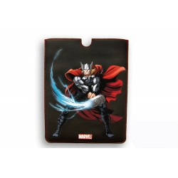 FUNDA PIEL IPAD AIR DELUXE LEATHER SLEEVE MARVEL THOR HEROES