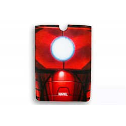FUNDA PIEL IPAD MINI DELUXE LEATHER SLEEVE MARVEL IRON MAN ARMOR