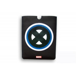 FUNDA PIEL IPAD MINI DELUXE LEATHER SLEEVE MARVEL X-MEN HEROES