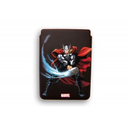 FUNDA RIGIDA PIEL IPAD 2-3 DELUXE LEATHER CASE MARVEL THOR HEROES