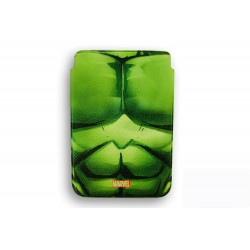 FUNDA RIGIDA PIEL IPAD AIR DELUXE LEATHER CASE MARVEL HULK ARMOR