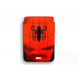 FUNDA RIGIDA PIEL IPAD AIR DELUXE LEATHER CASE MARVEL SPIDERMAN ARMOR