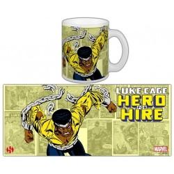 TAZA MARVEL LUKE CAGE HERO FOR HIRE TAZAS MANGA / COMICS