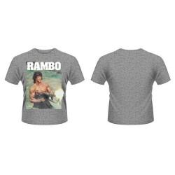 CAMISETA RAMBO GUN S CAMISETAS CINE