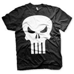 CAMISETA PUNISHER LOGO XL CAMISETAS MANGA / COMICS