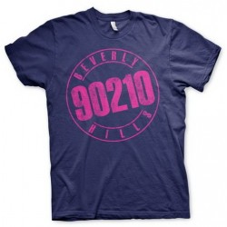 CAMISETA BEVERLY HILLS 90210 LOGO L CAMISETAS SERIES TV