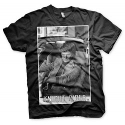 CAMISETA KNIGHT RIDER HASSELHOFF XL CAMISETAS SERIES TV