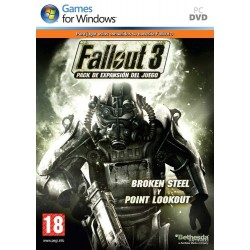 FALLOUT 3 ADD ON PACK 1 PC VIDEOJUEGO FISICO PHYSICAL GAME PC