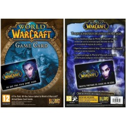 World of WarCraft - Tarjeta de Pre-pago