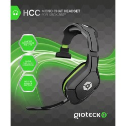 HCC WIRED MONO HEADSET (XB3)